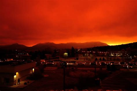 Evacuations underway in Estes Park, East Troublesome Fire
