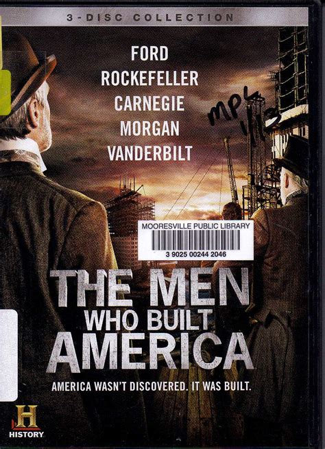 """Rooftop Reviews: """"The Men Who Built America"""" - History"""