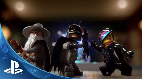 LEGO Dimensions - Official Announce Trailer   PS4, PS3