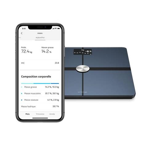 Withings Balance connectée Withings Body + noir | Decathlon