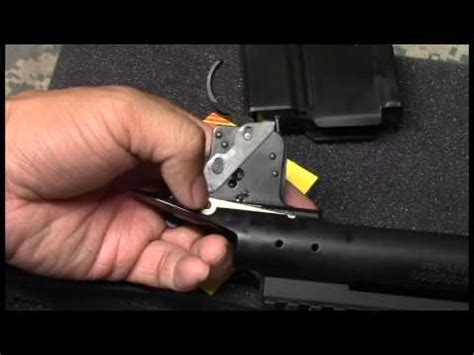 Timney Trigger Remington 700 Install Video - HOW TO - YouTube
