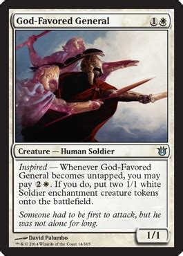 God-Favored General from Born of the Gods Spoiler