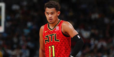 Trae Young becomes fourth youngest player in NBA history