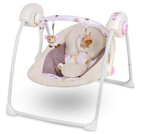 Balancelle relaxation bébé Easy Swing interactive jouets
