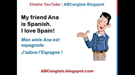 Cours d'anglais 26 - D'où viens-tu ? Where are you from