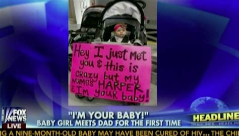 Baby welcomes dad home with amazing sign - AOL News