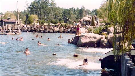 River Country at Disney's Fort Wilderness 2014 Tour w
