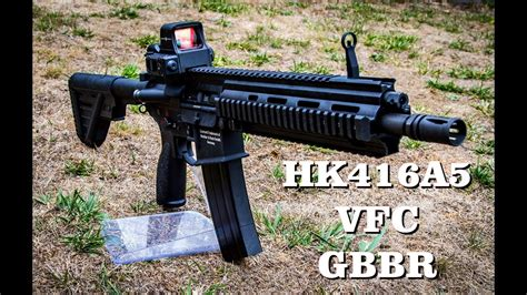HK416A5 VFC GBBR AIRSOFT REVIEW - Airsoft Factory
