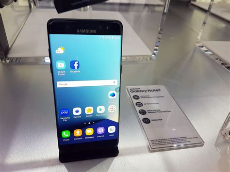 Hands on: Samsung's Galaxy Note7 looks like its best phone