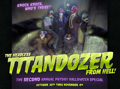 Payday 2 is also throwing a Halloween event - VG247