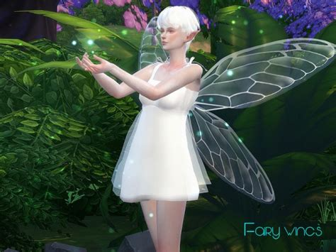 The Sims Resource: Fairy wings 01 by S-Club • Sims 4 Downloads