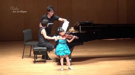 Ko SoHyun (7yrs) Praeludium and allegro - in the style of