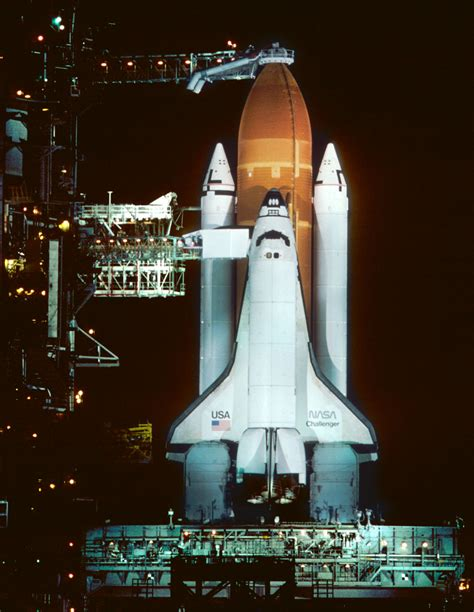 Space Shuttle Challenger - The Night Before The Fatal