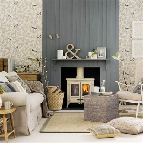 Cosy living room looks for autumn | Ideal Home