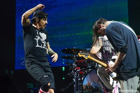 Red Hot Chili Peppers - Photos From Denver With Trombone