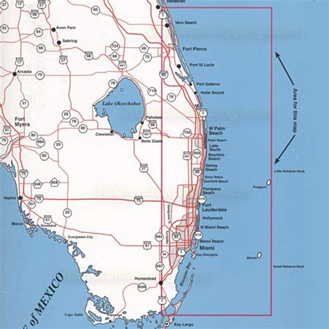 Southeast Florida Offshore Top Spot Charts (Miami to