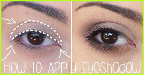 How To Apply Eyeshadows For Beginners? - Step By Step Tutorial