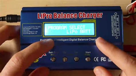 [Airsoft] imax b6 : charger une lipo et une nimh - YouTube