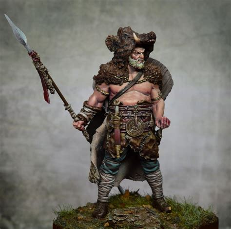 """Germanic warrior by Jose A Gallego """"JAG"""" · Putty&Paint"""