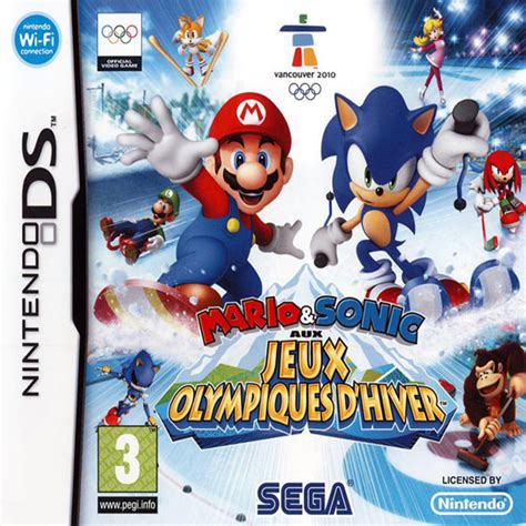 Mario & Sonic aux Jeux Olympiques d'Hiver – ISO & ROM