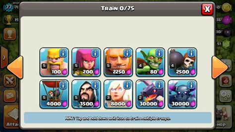 TheBarbarianKing - COC's Strategy Guide/Upgrading Troops
