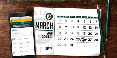 A's 2020 schedule released | Oakland Athletics