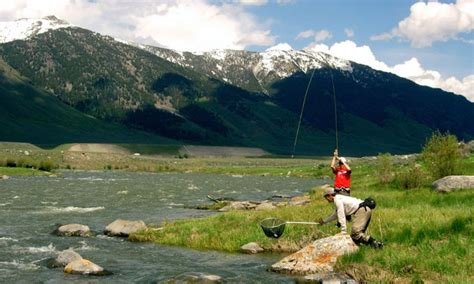 Yellowstone National Park Fishing Guides & Fly Shops